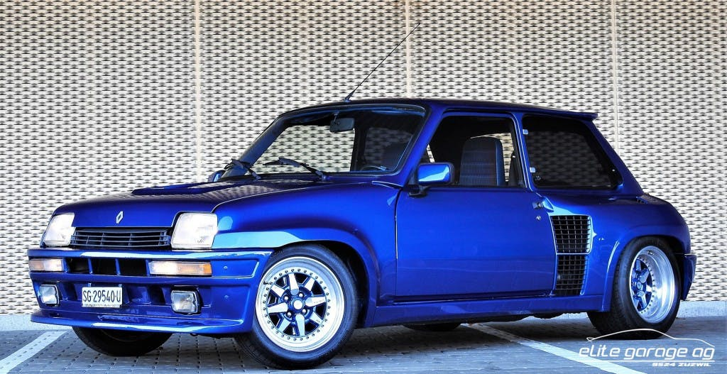 coupe Renault R5 Turbo 1