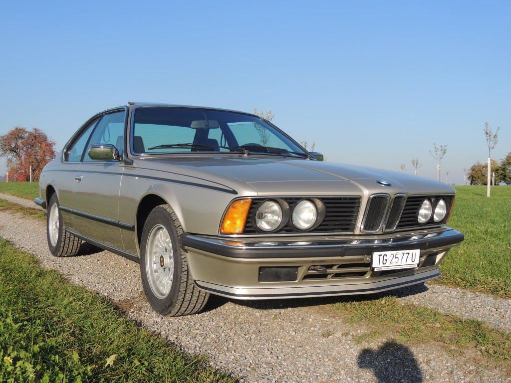 coupe BMW 6er 635 CSI A