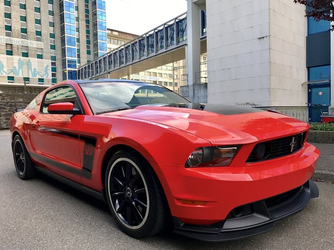 coupe Ford Mustang Boss 302
