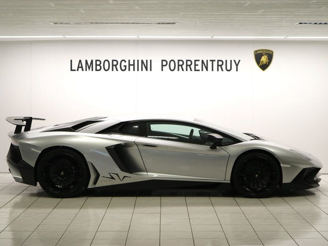 coupe Lamborghini Aventador LP750-4 Superveloce Coupé E-Gear