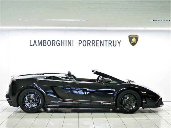 cabriolet Lamborghini Gallardo LP570-4 Spyder Performante E-Gear