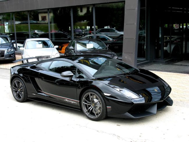 coupe Lamborghini Gallardo LP570-4 Coupé Superleggera E-Gear