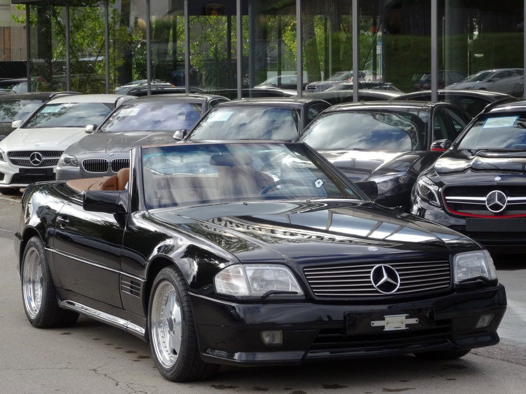 cabriolet Mercedes-Benz SL 500 / SL 60 AMG 6.0 Automatic