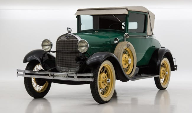 coupe Ford Model A A SPORT COUPE