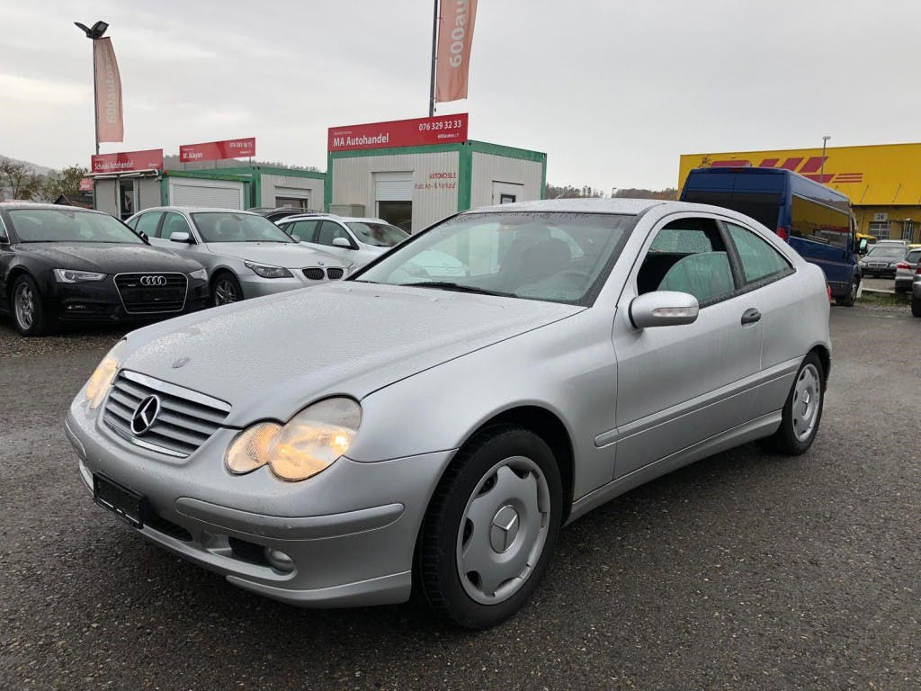 coupe Mercedes-Benz C-Klasse C 180