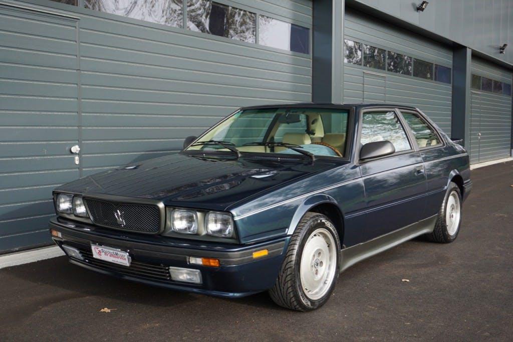 coupe Maserati Biturbo 222 SE