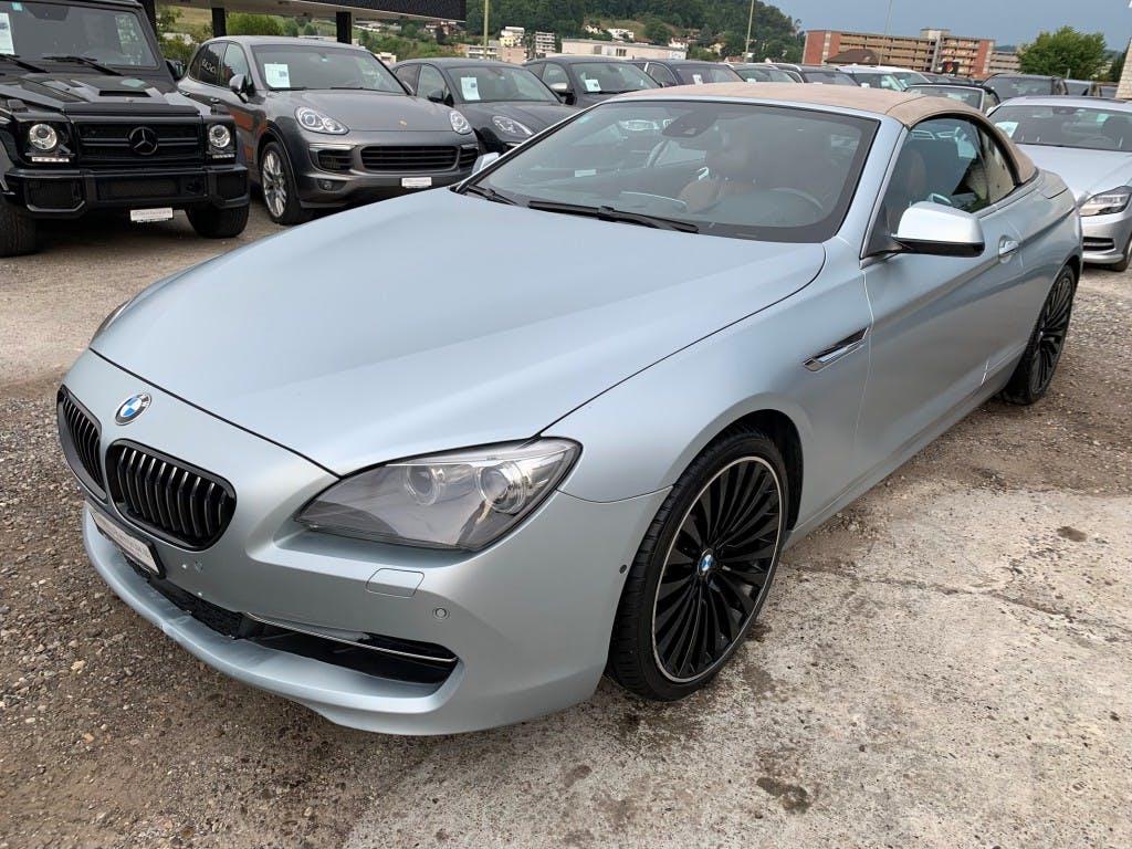 cabriolet BMW 6er 650i Cabrio I 408 PS I INDIVIDUAL INTERIEUR + EXTERIEUR I