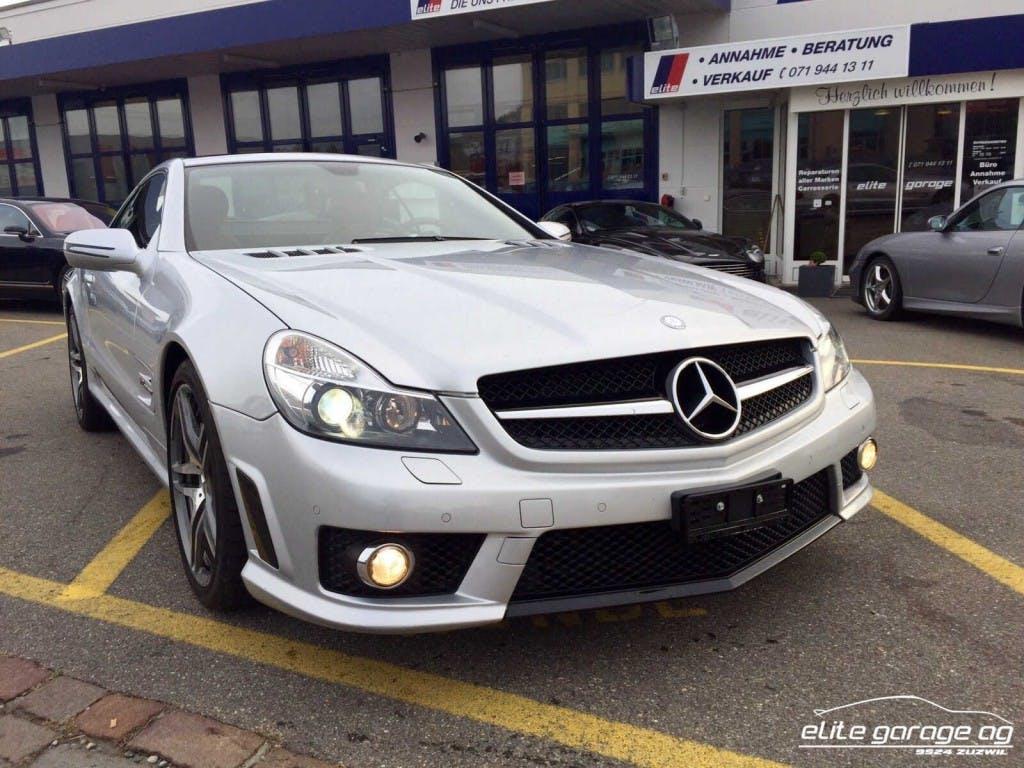 cabriolet Mercedes-Benz SL 65 AMG Speedshift