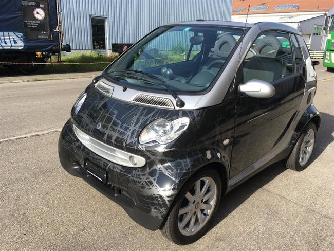 cabriolet Smart City/Fortwo FORTWO Scratch Black Edition