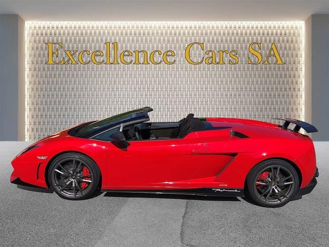 cabriolet Lamborghini Gallardo LP570-4 Spyder Performante Ed. Tecnica E-Gear