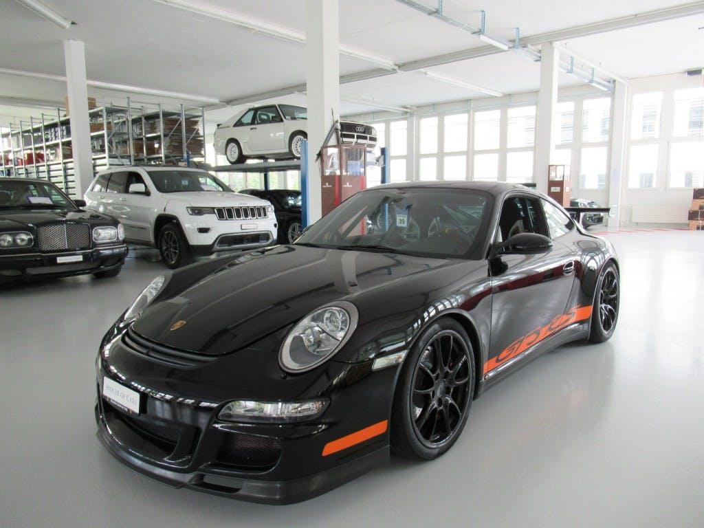 coupe Porsche 911 GT3 RS manual