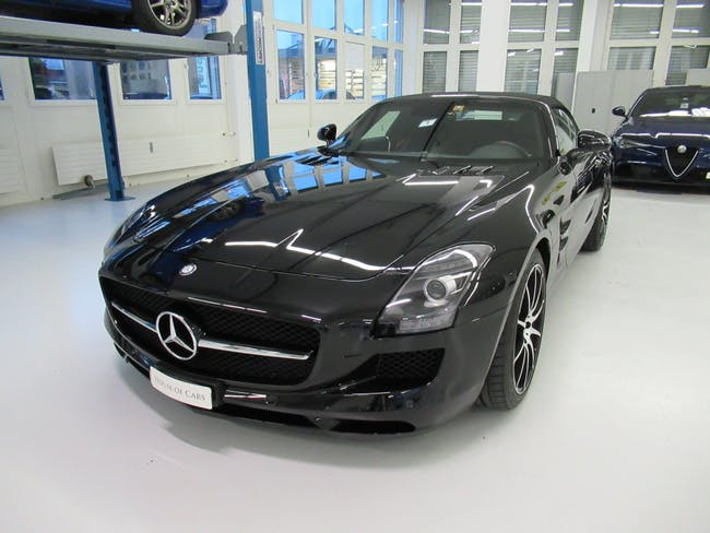 cabriolet Mercedes-Benz SLS 63 AMG GT Edition Modell 2014