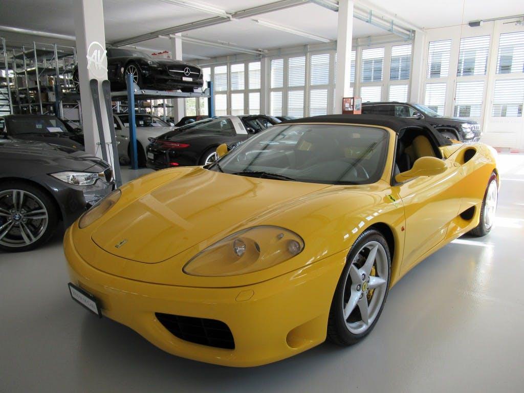 cabriolet Ferrari 360 FSpider 6-Gang manual