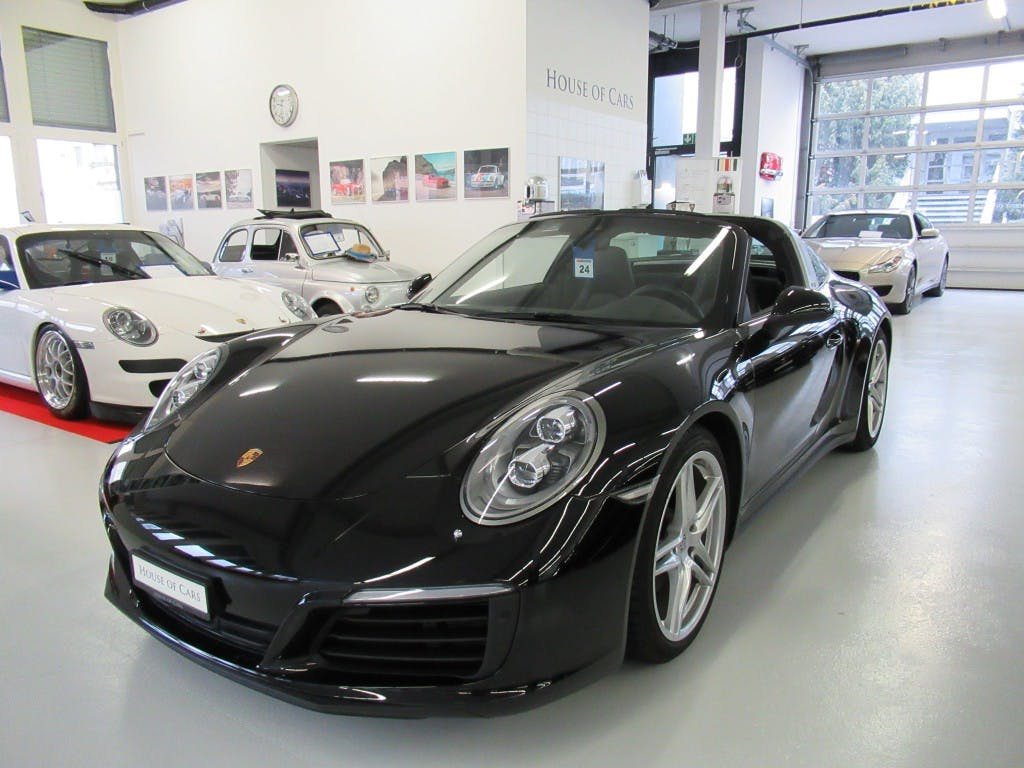 cabriolet Porsche 911 Targa 4 PDK