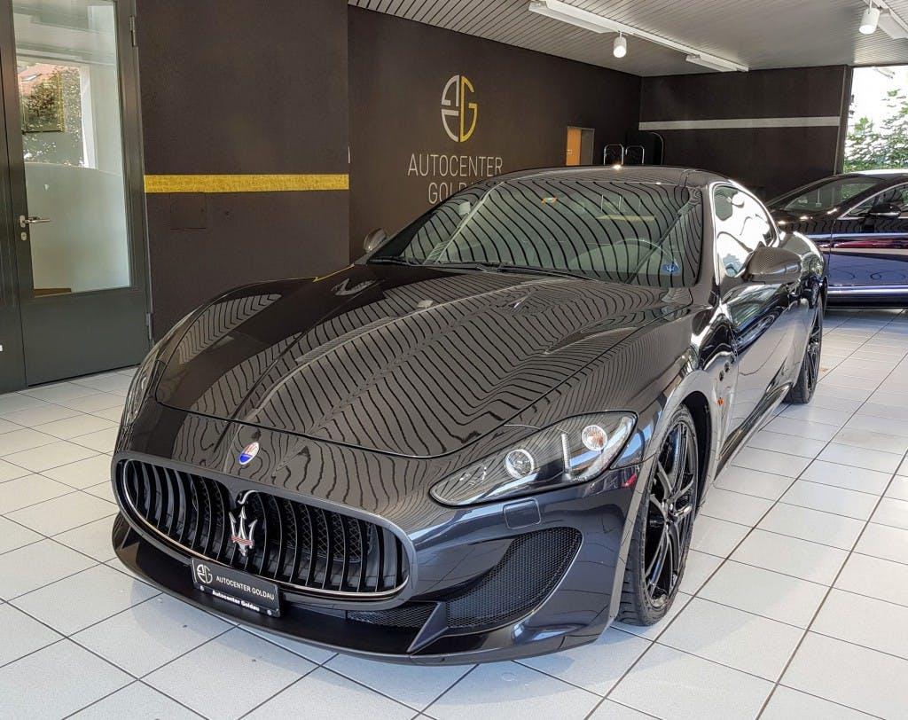 coupe Maserati GranCabrio/Granturismo GranTurismo MC Stradale Cambiocorsa