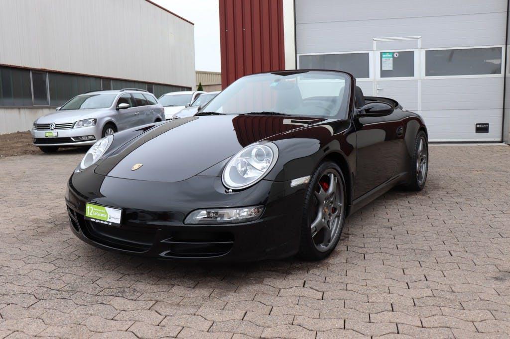 cabriolet Porsche 911 Cabrio Carrera S
