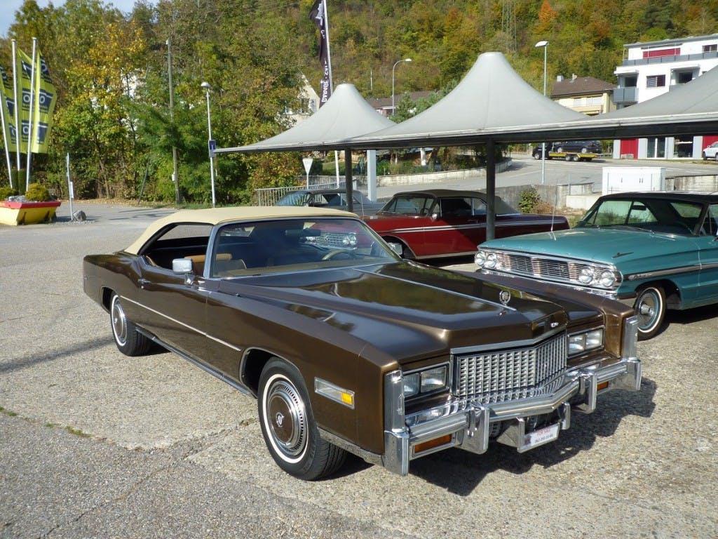 cabriolet Cadillac Eldorado Eldorado