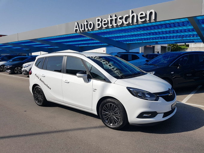Opel Zafira 1.6T eTEC 120 Years 7'000 km 26'990 CHF - buy on carforyou.ch - 1