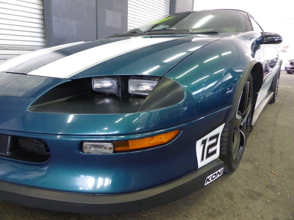coupe Chevrolet Camaro Z28 Targa