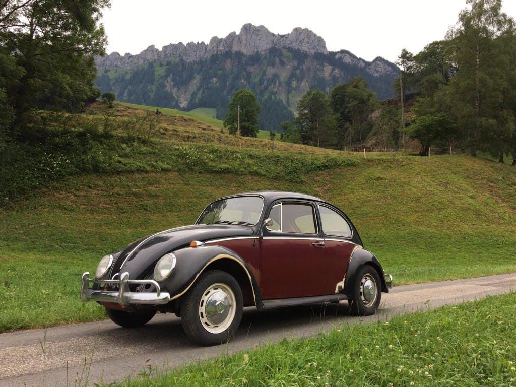 coupe VW Beetle Käfer 1200