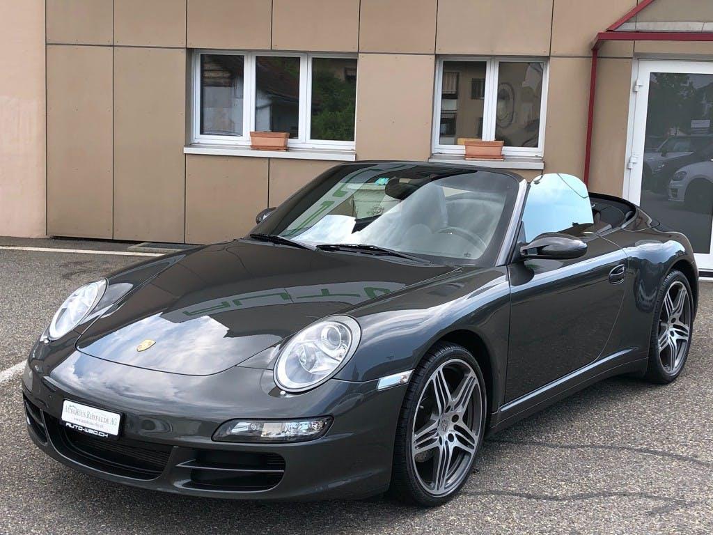 cabriolet Porsche 911 Cabrio Carrera 4
