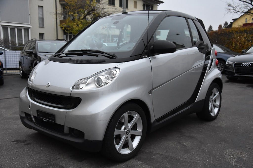 cabriolet Smart Fortwo pulse softouch