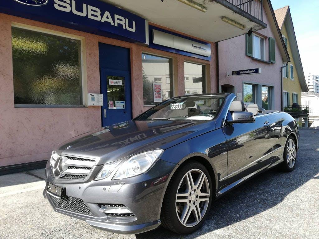 cabriolet Mercedes-Benz E-Klasse A207 Cabriolet E 350 BlueEF Ele