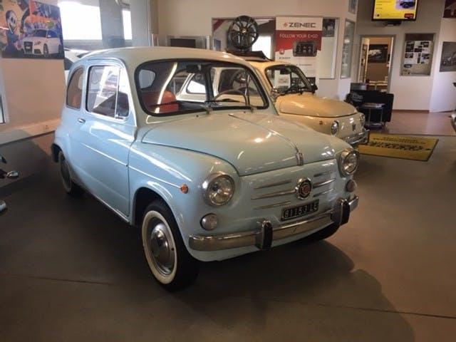 coupe Fiat 600 D 100 - 700