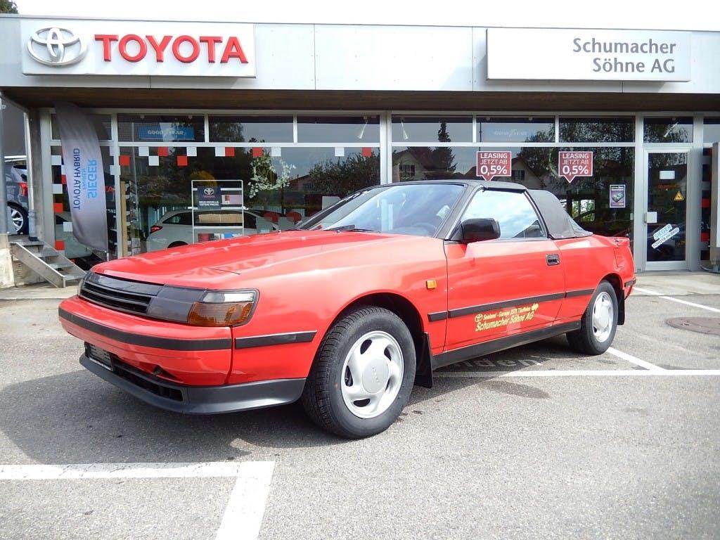 cabriolet Toyota Celica 2000 Cabrio