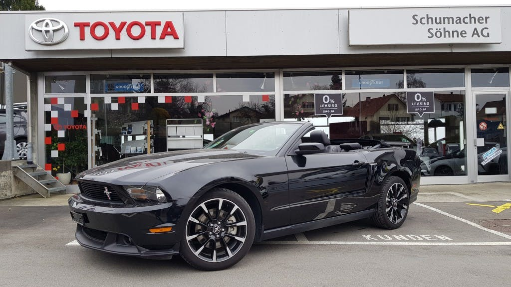 cabriolet Ford Mustang California Spezial
