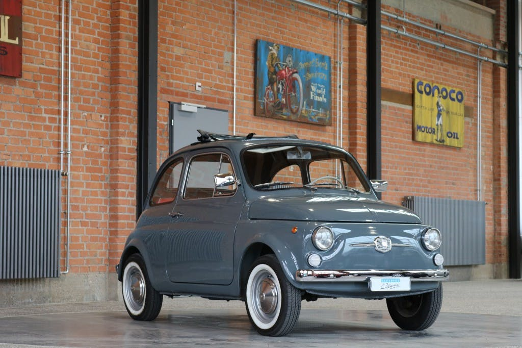 coupe Fiat 500 F
