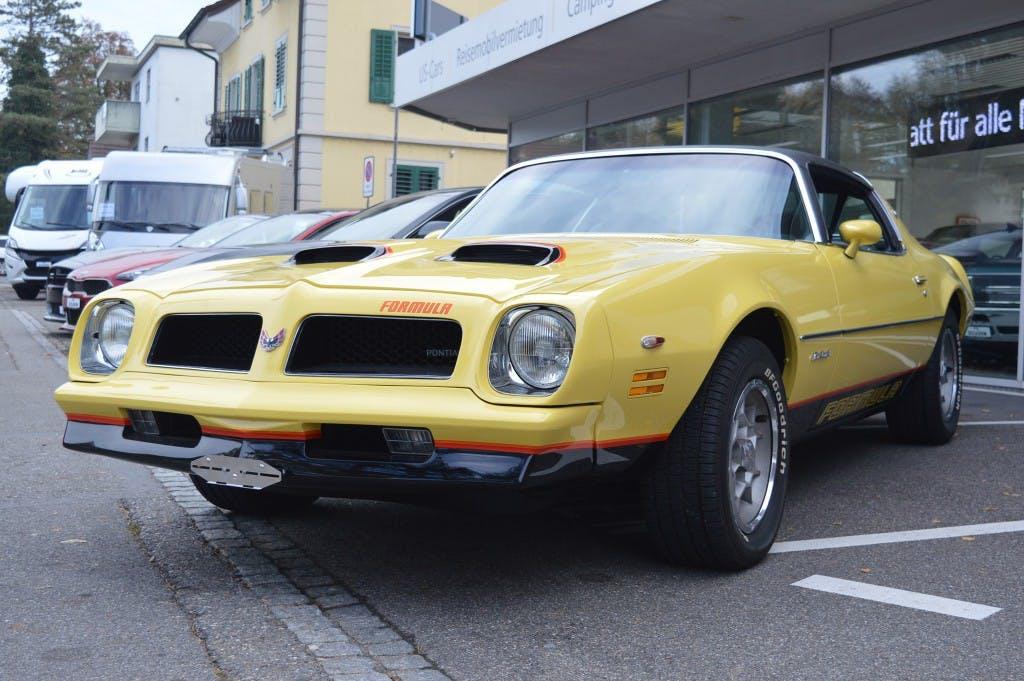 coupe Pontiac Firebird Formula 400