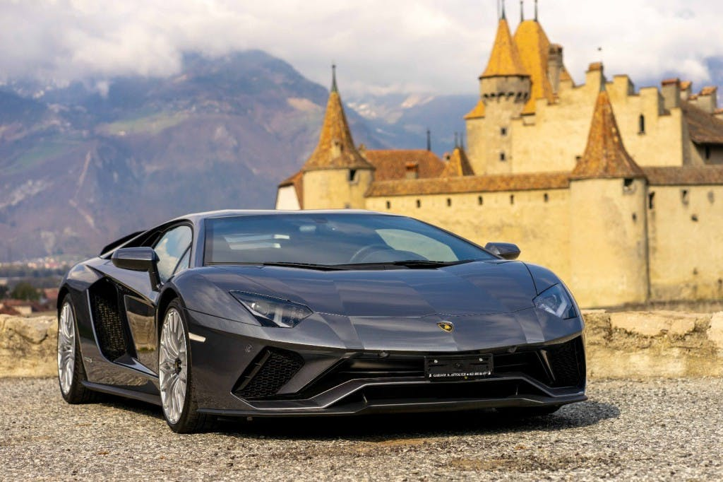 coupe Lamborghini Aventador S LP740-4 Coupé E-Gear