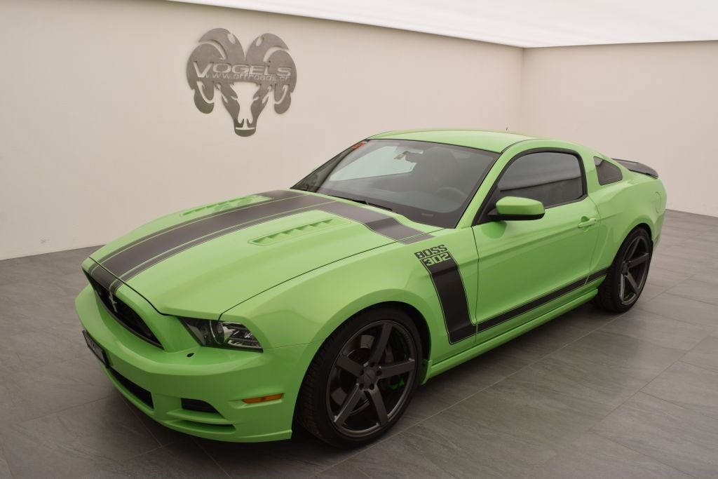 coupe Ford Mustang Boss 302 5.0