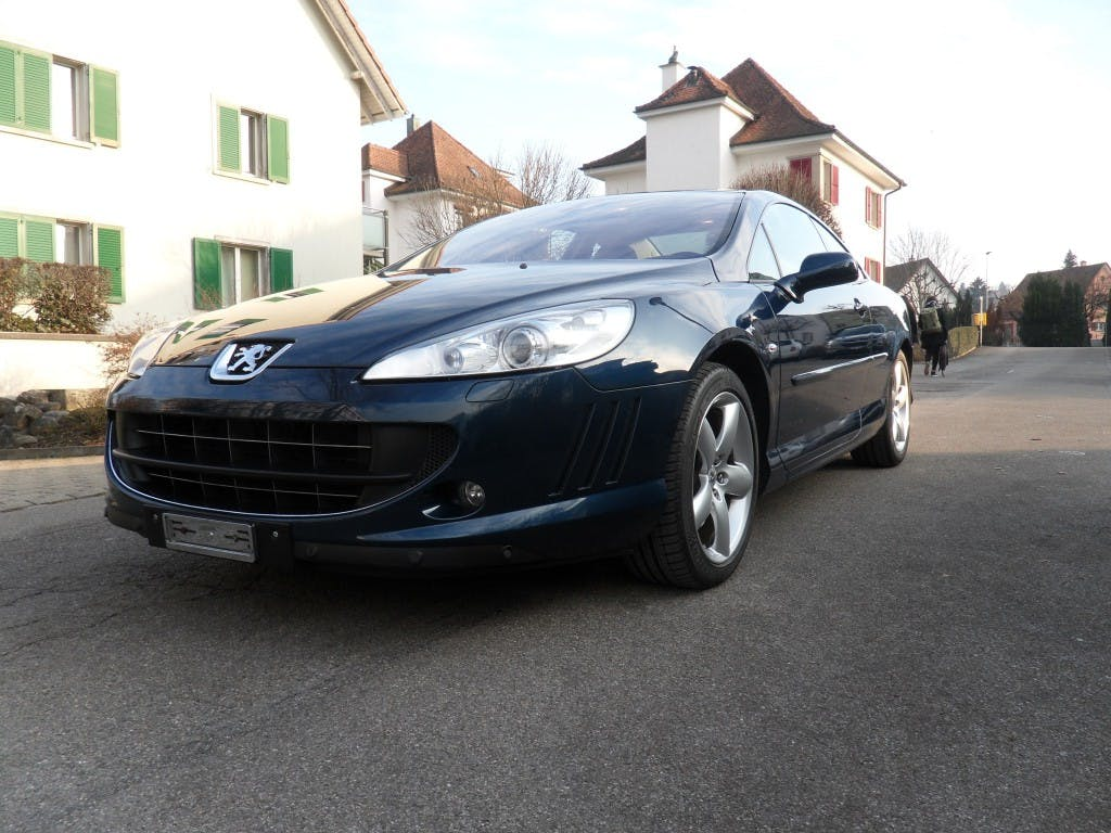 coupe Peugeot 407 Coupé 2.7 HDI Pack Automatic