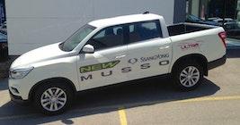 SsangYong Musso 2.2 e-XDI Quartz 50 km 39'900 CHF - buy on carforyou.ch - 2