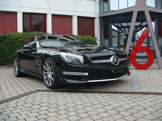 cabriolet Mercedes-Benz SL 63 AMG 585PS Speedshift