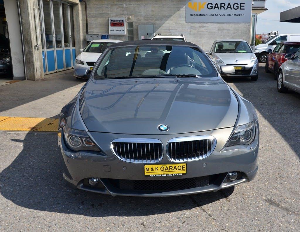 cabriolet BMW 6er 645i