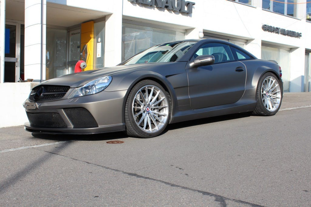 coupe Mercedes-Benz SL 65 AMG MERCEDES-BENZ SL 65 AMG BLACK SERIES 1 of 175