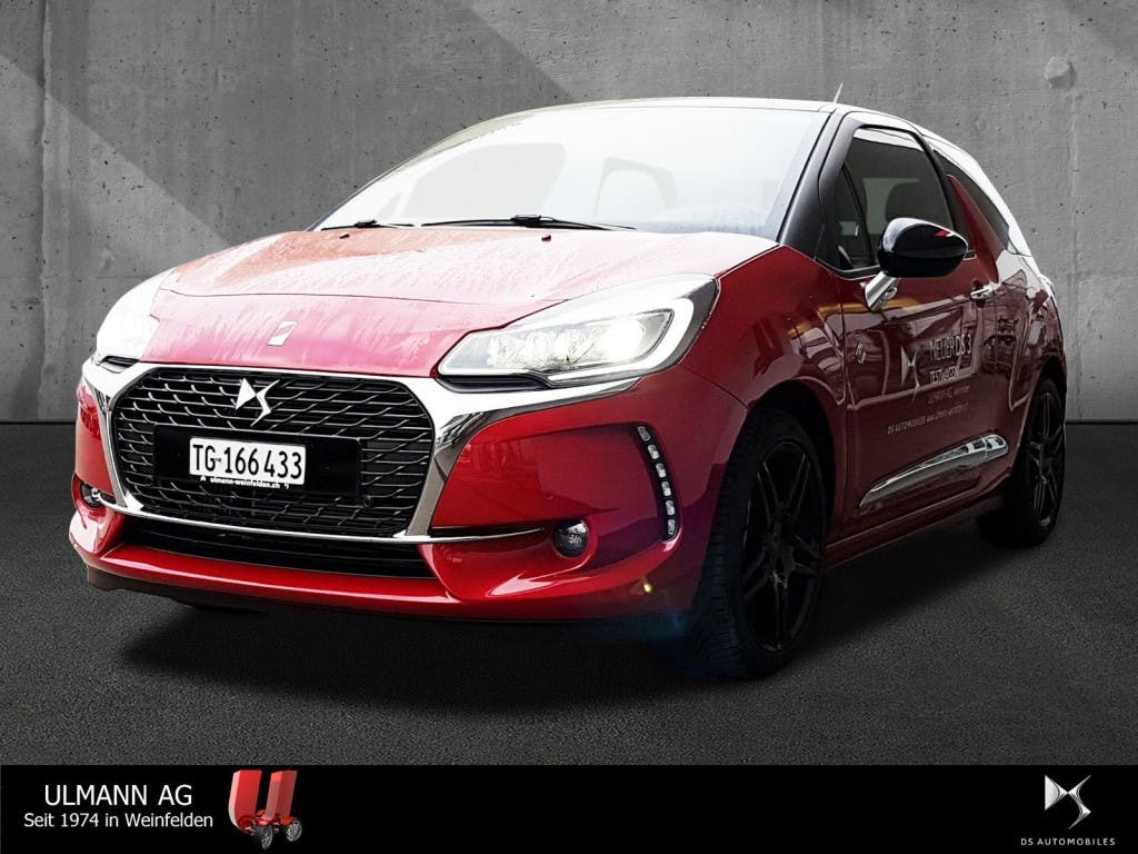 saloon DS Automobiles DS3 1.6 THP Performance Line