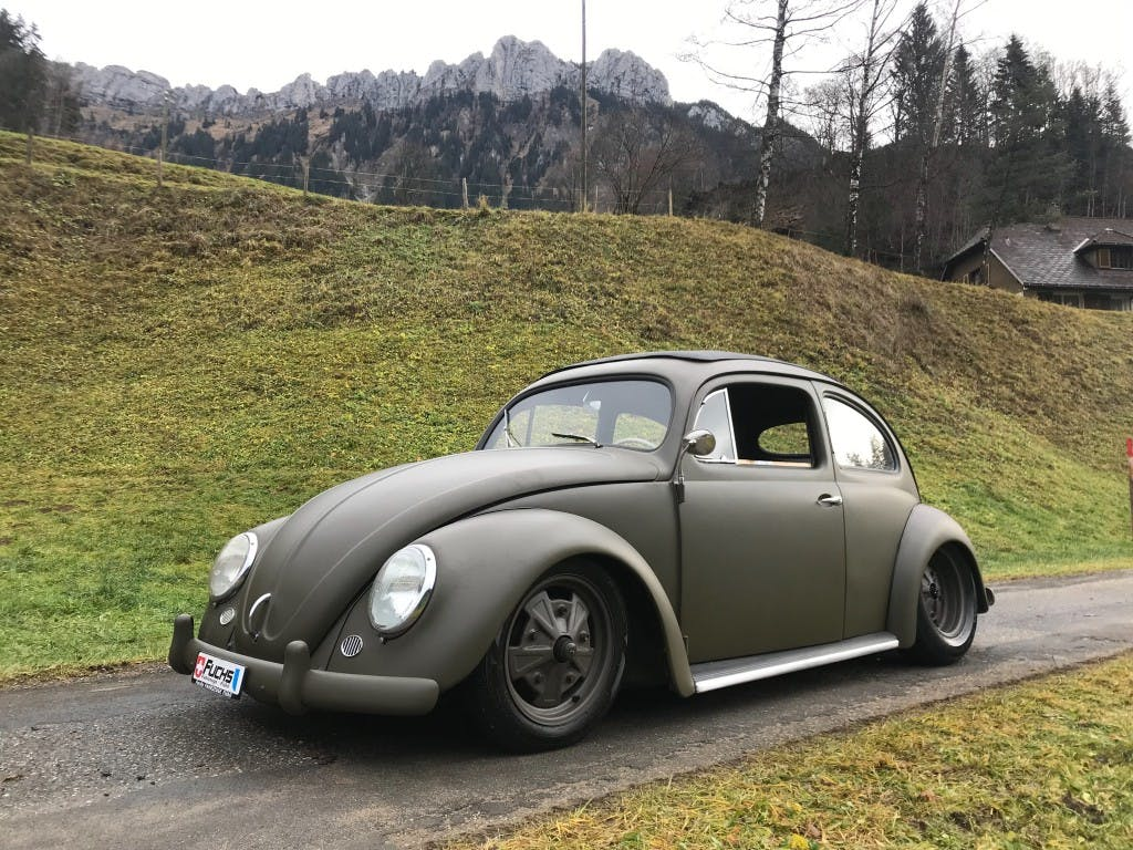 coupe VW Beetle Käfer OVALI