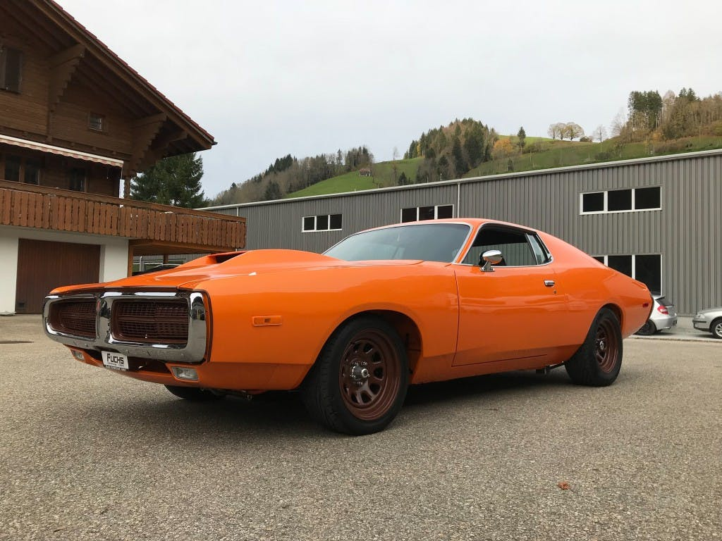 coupe Dodge USA Charger R/T 440 V8