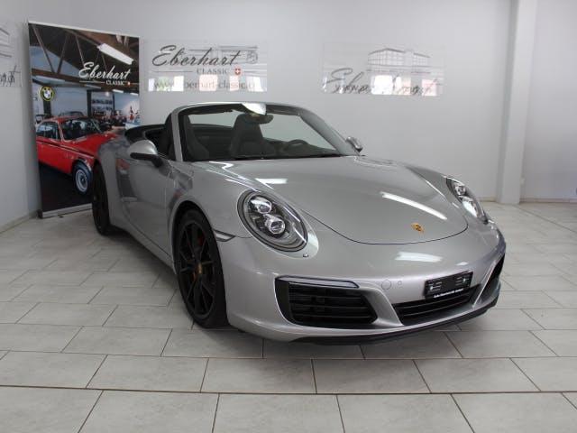 cabriolet Porsche 911 Carrera S Cabrio