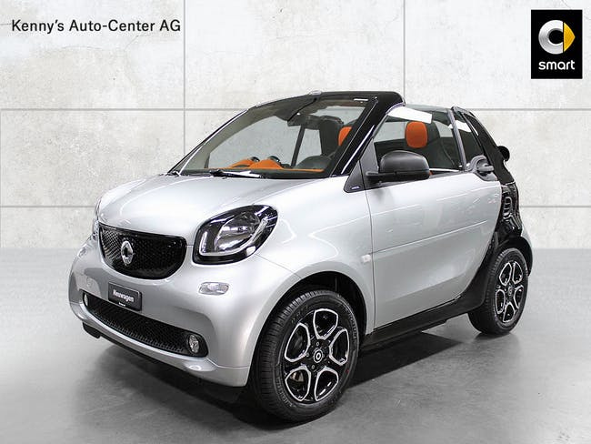 cabriolet Smart Fortwo cabrio citypassion 90PS twinamic
