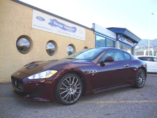 Maserati GranCabrio/Granturismo Gran Turismo 4.7 V8 S 48'900 km CHF45'500 - buy on carforyou.ch - 1