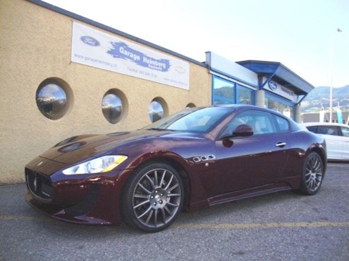 Maserati GranCabrio/Granturismo Gran Turismo 4.7 V8 S 48'900 km CHF45'500 - kaufen auf carforyou.ch - 1