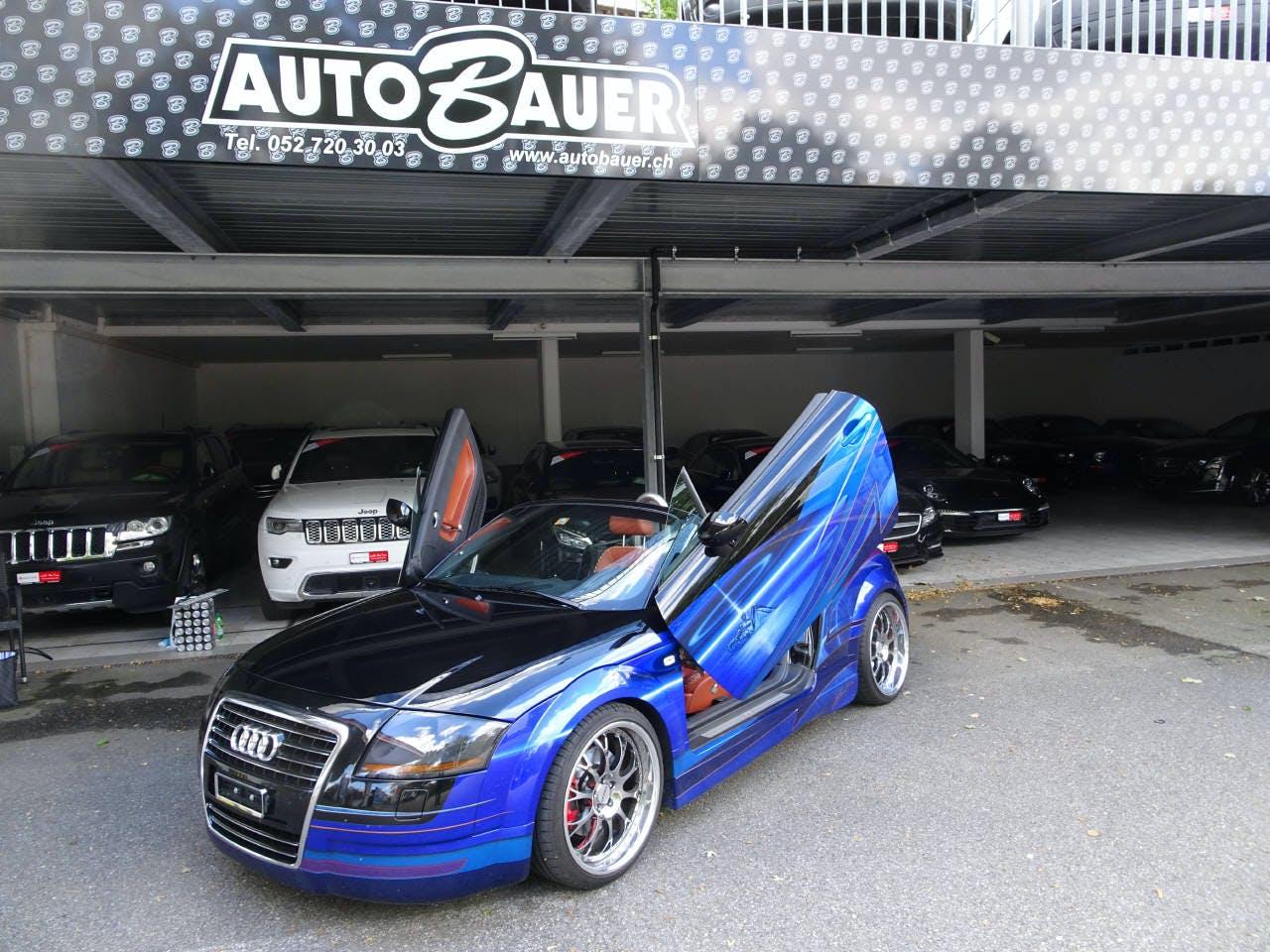 cabriolet Audi TT Roadster 1.8 20V Turbo 225 quattro ES