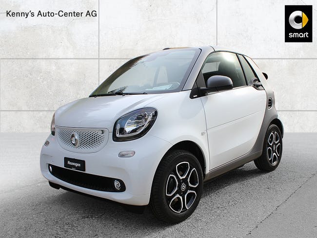 cabriolet Smart Fortwo cabrio citypassion 70PS twinamic