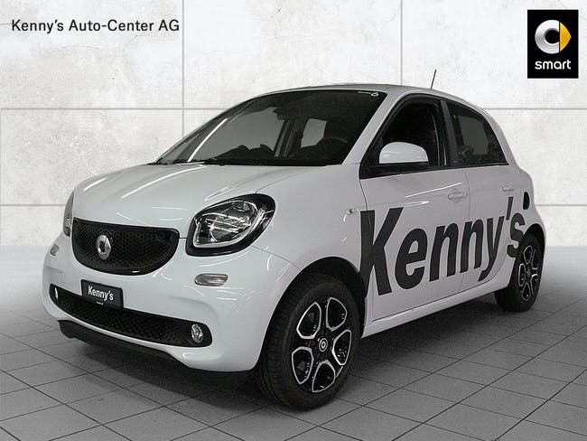 saloon Smart Forfour passion 90PS twinamic