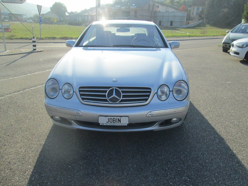coupe Mercedes-Benz CL 600 Automatic